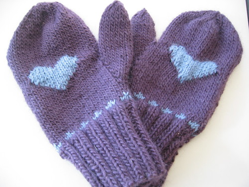 Nell's mittens